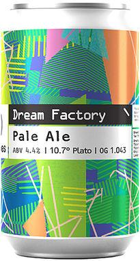 Two Tribes Dream Factory Pale Ale, Can 330 ml x 24