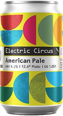 Two Tribes Electric Circus American Pale Ale, Can 330 ml x 24