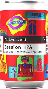 Two Tribes Metroland Session IPA, Can 330 ml x 24