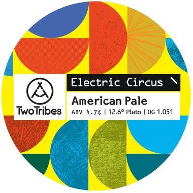 Two Tribes Electric Circus American Pale Ale, Keg 30 lt x 1