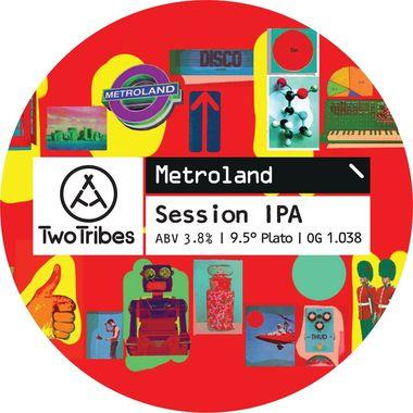 Two Tribes Metroland Session IPA, Keg 30 lt x 1