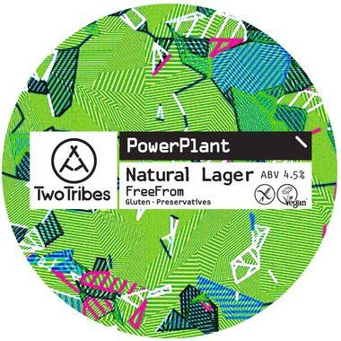 Two Tribes PowerPlant Natural Lager (Gluten Free), Keg 30 lt x 1