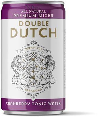 Double Dutch Cranberry & Ginger, Can 150 ml x 24
