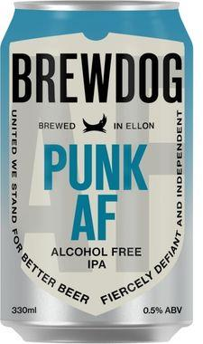 Brewdog Punk Alcohol Free, Can 330 ml x 24