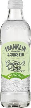 Franklin & Sons Infused Soda Guava, Lime & Ginger, NRB 275 ml x 12