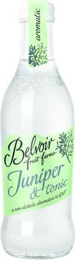 Belvoir Botanical Juniper & Tonic, NRB 250 ml x 12