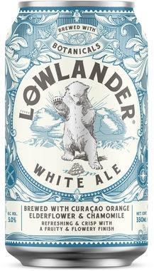 Lowlander White Ale, Can 330 ml x 24