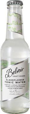 Belvoir Fruit Farms Elderflower Tonic Water 200 ml x 24