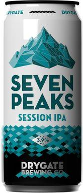 Drygate Seven Peaks Session IPA, Can 440 ml x 12