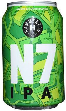 Hammerton Brewery N7 IPA, Can 330 ml x 24