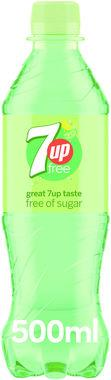 7 Up Free, PET 500 ml x 24