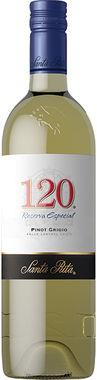 Santa Rita 120 Pinot Grigio, Central Valley
