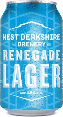 Renegade Lager, Can 330 ml x 24