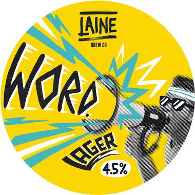 Laine Brew Co, Word Lager, Keg