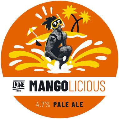 Laine Brew Co, Mangolicious Pale Ale, Keg