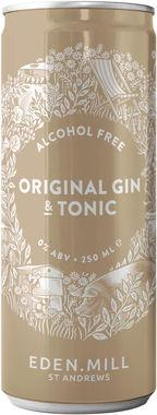 Eden Mill 0% Original Gin & Tonic 250 ml x 12