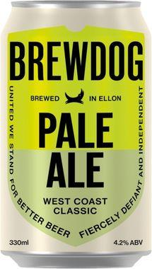 Brewdog Pale Ale, Can 330 ml x 24