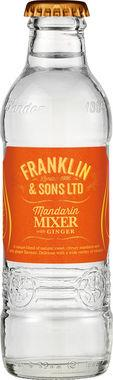 Franklin & Sons Mandarin & Ginger, NRB 200 ml x 24