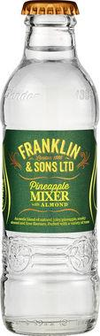 Franklin & Sons Pineapple & Almond, NRB 200 ml x 24
