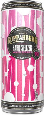 Kopparberg Mixed Berries Hard Seltzer, Can 330 ml x 12