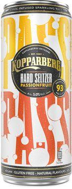 Kopparberg Passionfruit Hard Seltzer, Can 330 ml x 12