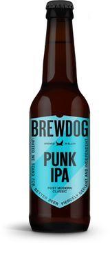 Brewdog Punk IPA, NRB 330 ml x 12