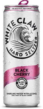 White Claw Hard Seltzer Black Cherry, Can 330 ml x 12