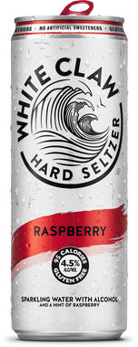 White Claw Hard Seltzer Raspberry, Can