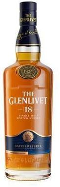 The Glenlivet 18YO Single Malt Scotch 40%