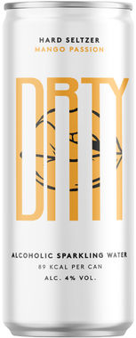DRTY Mango Passion Hard Seltzer, Can