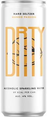 DRTY Mango Passion Hard Seltzer, Can 330 ml x 12