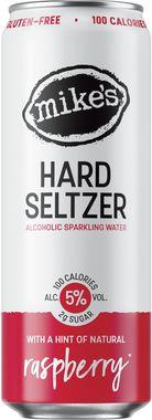 Mike's Hard Seltzer Raspberry, Can 330 ml x 12
