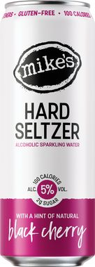 Mike's Hard Seltzer Black Cherry, Can