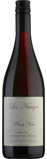 Les Nuages Pinot Noir Rouge Vin de France 2015
