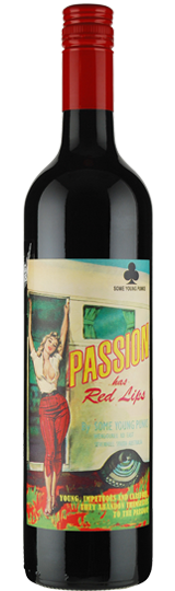 Some Young Punks Passion has Red Lips Shiraz Cabernet Sauvignon 2016