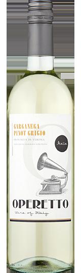 Operetto Garganega Pinot Grigio della Venezie IGT 2016