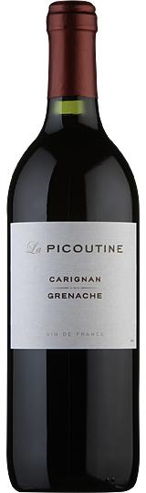 La Picoutine Carignan Grenache Vin de France 75cl