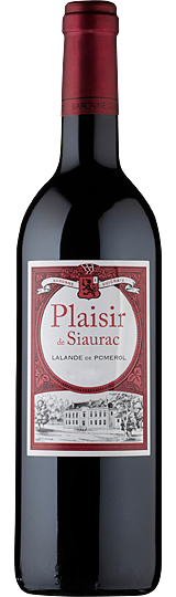 Plaisir de Chateau Siaurac Lalande de Pomerol  2014