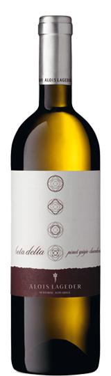Beta Delta Chardonnay Pinot Grigio Lageder Biodynamic 2016