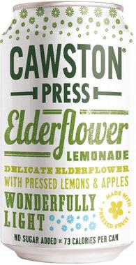 Cawston Press Sparkling Elderflower Lemonade 33 cl x 24