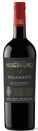 Li Veli Passamante Salice Salentino DOC