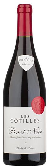 Les Cotilles Pinot Noir Vin de France Roux 2016
