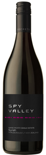 Spy Valley Syrah 2014