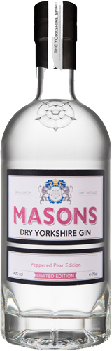 Masons Yorkshire Gin - Peppered Pear