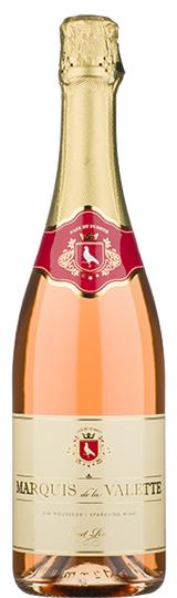 Marquis de Valette Brut Rosé NV