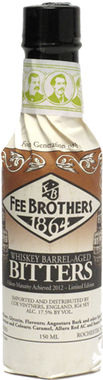 Fee Brothers Whisky Barrel Aged Bitters 150ml