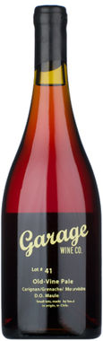 Garage Wine Co Old Vine Pale Lot # 83 2018