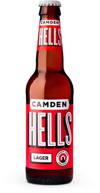 Camden Hells Lager (4x33cl Retail Pack), NRB