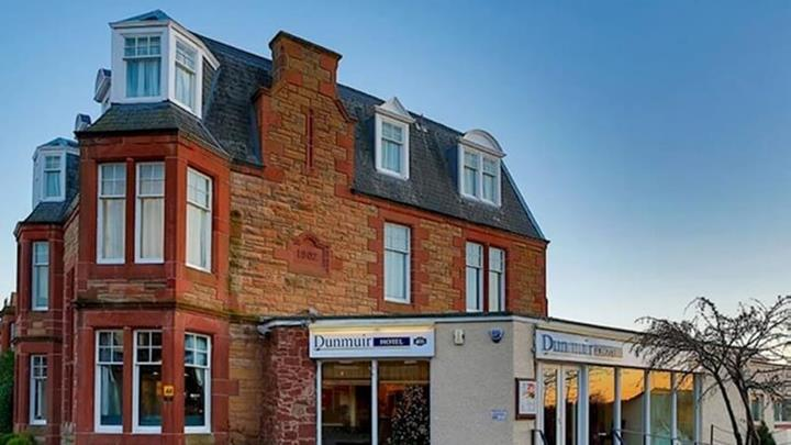 Dunmuir Hotel Scotland Wine.JPG