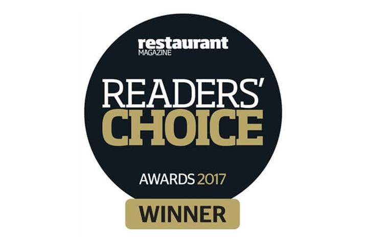 Readers Choice 2017 restaurant magazine